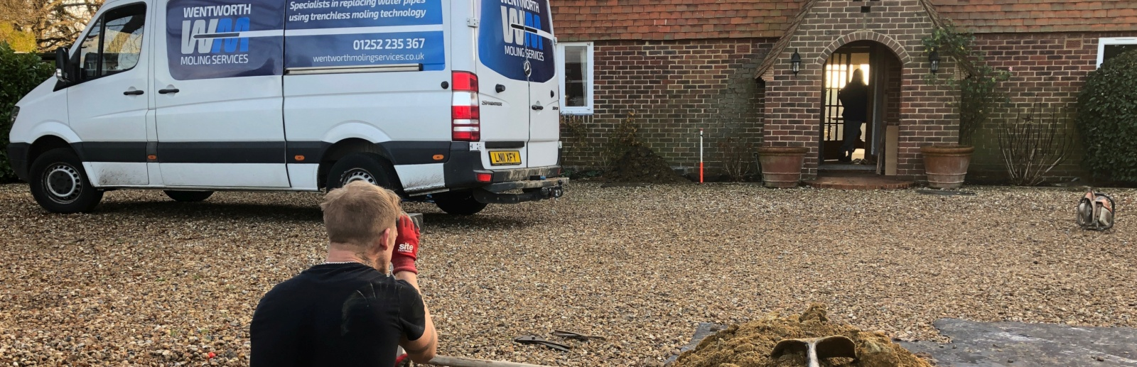 Moling Contractors Hampshire