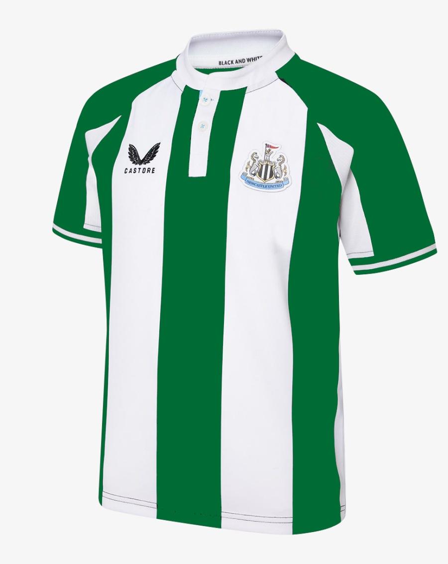 Newcastle Home Shirt 22/23 Saudi Arabia Colours